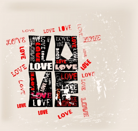 love design, free copy space Stock Vector - 19935367