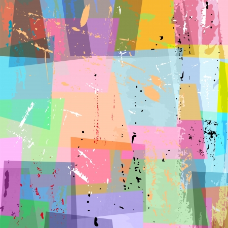 abstract background composition, with strokes and splashes, pastel