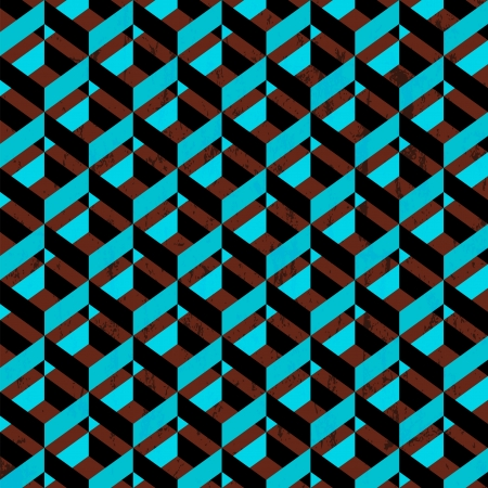 retro abstract geometric pattern background, vintage style Vector
