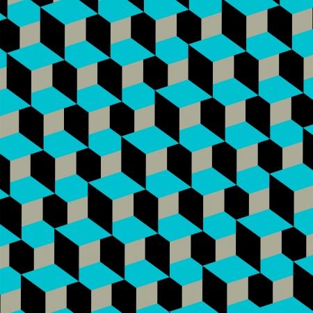 asymmetric: retro abstract geometric pattern background