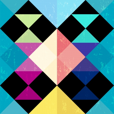 abstract geometric pattern background, with trianglessquares and splashes