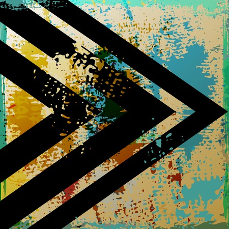 abstract background, with strokes, splashes and geometric lines