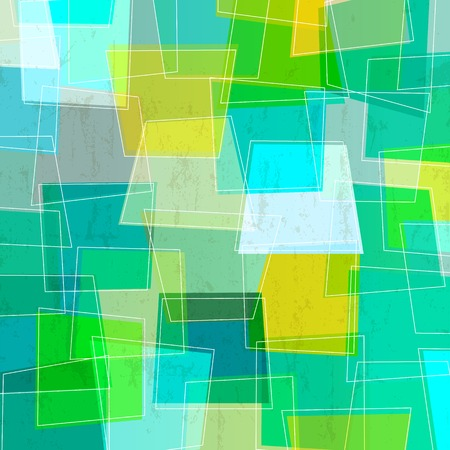 trapeze: abstract colorful background, with trapeze and white lines, retro style