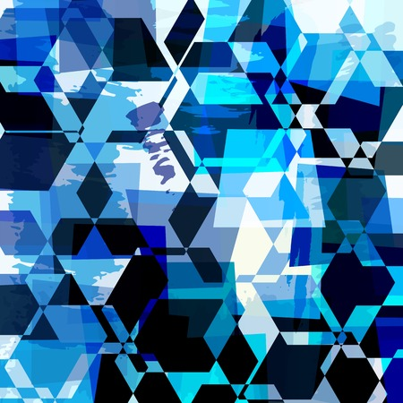 trapeze: abstract background composition, with strokes, splashes and trapeze Illustration