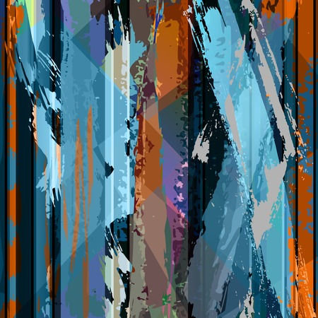 abstract background composition, with strokes, splashes and lines