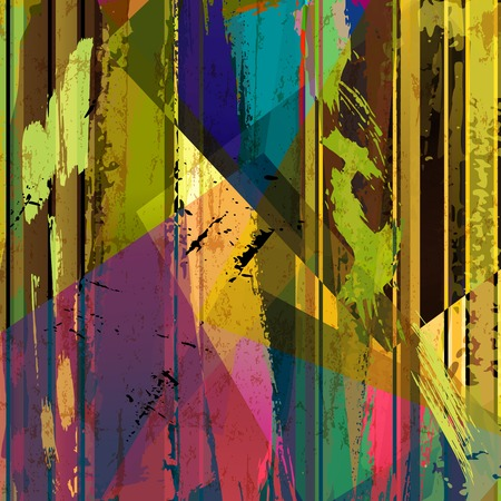 hue: abstract background composition, with strokes, splashes and lines