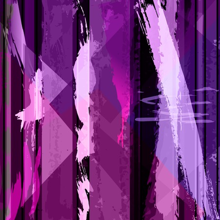 abstract background composition, with strokes, splashes and lines Vector