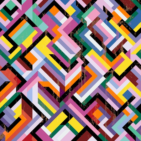 abstract geometric pattern background, with strokes and splashes