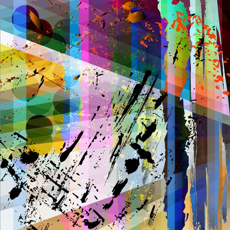 wallpaper vibrant: abstract background composition, with strokes, splashes and stripes