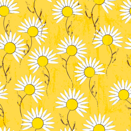 strokes: floral seamless pattern background, with strokes and splashes