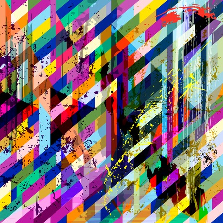 vertical image: abstract background, with strokes, splashes and geometric lines