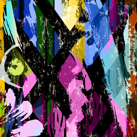 canvas element: abstract background composition, with strokes, splashes and lines