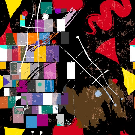 wall background: abstract background composition, with paint strokes and splashes