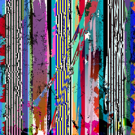 paint strokes: abstract geometric background, with paint strokes, splashes and stripeslines