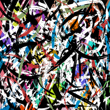 abstract background pattern, with paint strokes and splashes
