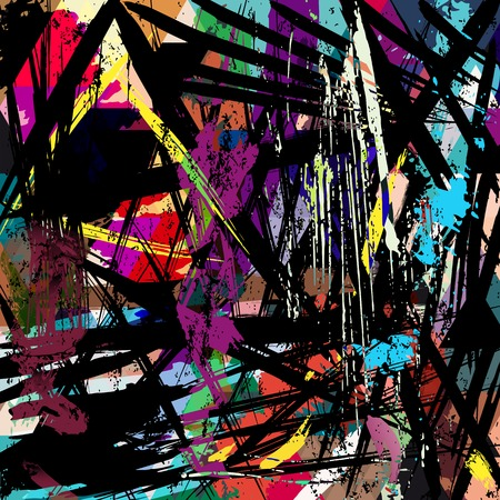 hue: abstract background, with strokes, splashes and geometric lines