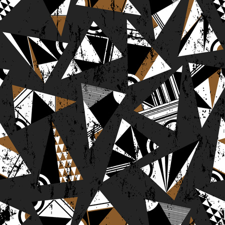 artwork: seamless abstract artwork, background Illustration