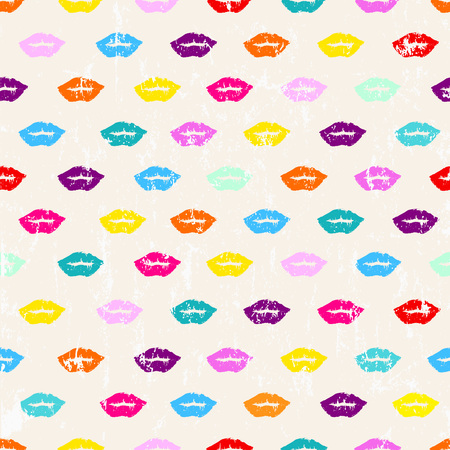 paint strokes: seamless pattern background, with paint strokes and splashes, mouth, grungy