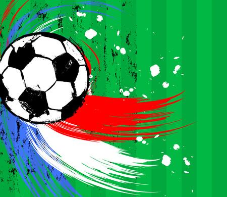 ballon foot: soccer  football, modèle de conception, copie espace libre, avec un ballon de soccer