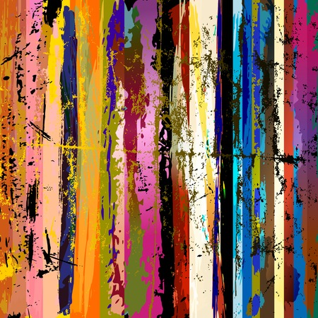abstract background composition, with paint strokes, splashes and stripes