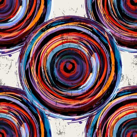 Abstracte achtergrond patroon, met cirkels, strepen en spatten