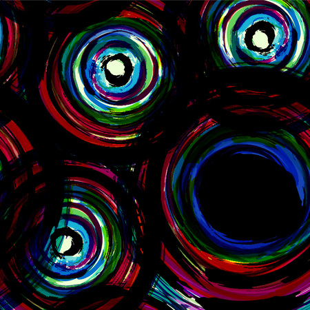 circle abstract: abstract background pattern, with circles, strokes and splashes