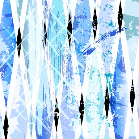 trapeze: abstract background, with strokes, splashes and geometric lines