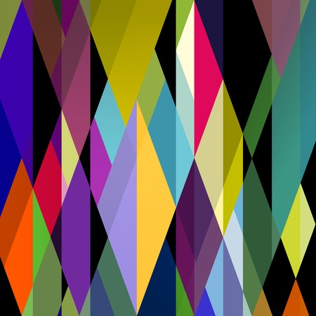 Abstract colorful background, retro style. Illustration