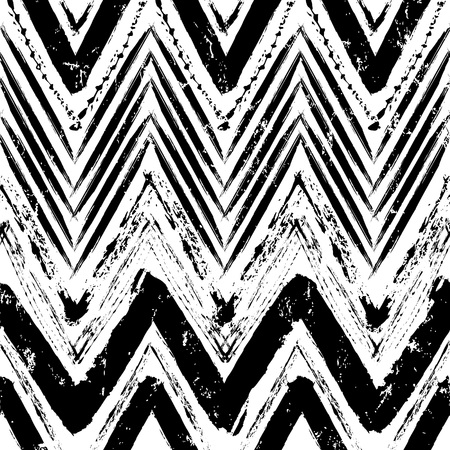 abstract geometric background pattern, with strokes and splashes, zigzag, black and white