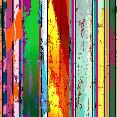 abstract grunge background composition, with paint strokes and splashes Vettoriali