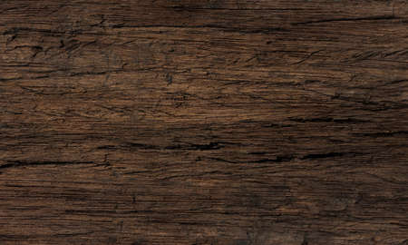 The surface of the old brown wood texture