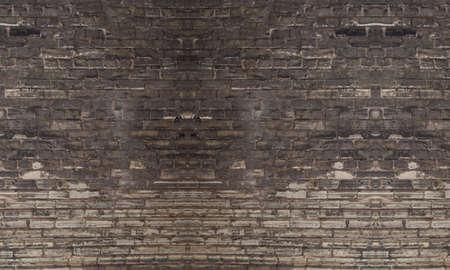 brick dirty graffiti old pattern background Imagens