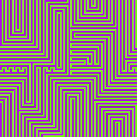 luminous: Luminous abstract lines seamless pattern. Vector illustration