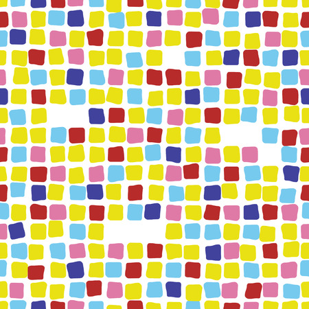 Colorful mosaic seamless pattern. Tile. Graphic
