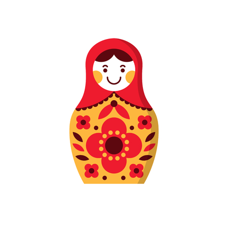 Matryoshka russian nesting doll, souvenir from Russia