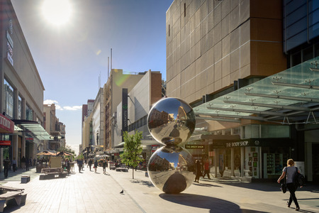 Rundle Mall is the centre of the Adelaide city and the premier shopping area of South Australia with 23 million visitors annually.