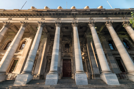 Old Parliament House, Adelaide, South Australia Stock Photo