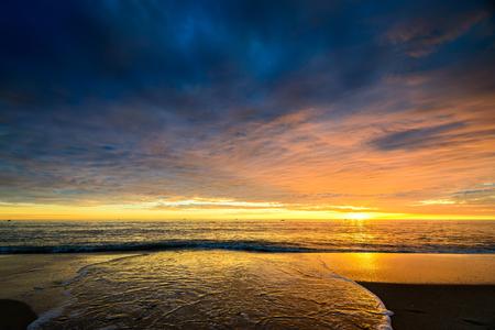 holdfast: Fishing boats at sunset, South Australia