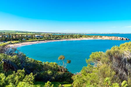 elliot: Dramatic view at Horseshoe Bay in Port Elliot, South Australia