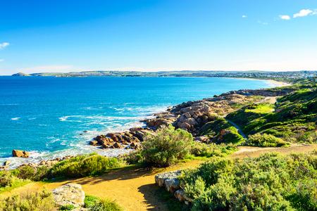 elliot: Port Elliot heritage trail view at Horseshoe Bay, South Australia