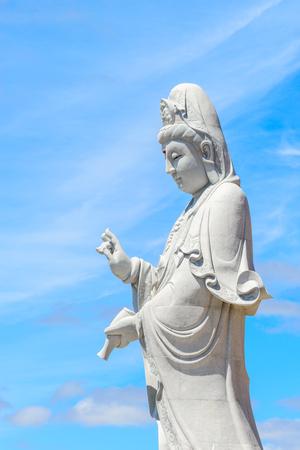 Buddha statue near Nan Hai Pu Tuo Temple of Australia at Sellicks Hill