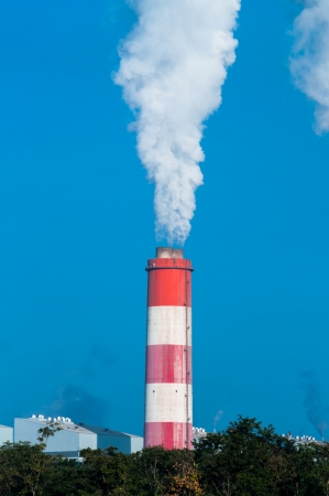 Mae Moh coal power plant in Lampang, Thailand. Stock Photo - 17358510