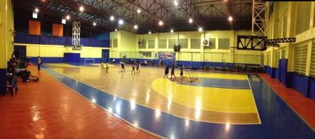 indoor soccer: Kids aprendizaje f�tbol sala