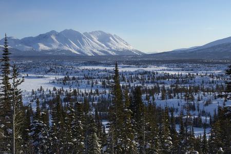 yukon territory: Vast Remote Wilderness of the Yukon Territory in Cananda