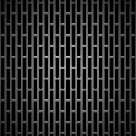 シームレスなカーボン ブラック技術背景テクスチャ インター ネット サイト、web ユーザのインタ フェース ui およびアプリケーションのアプリケー  イラスト・ベクター素材