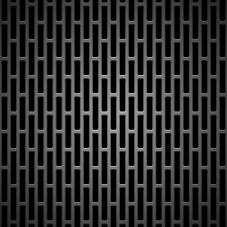 Technology background with seamless black carbon texture for internet sites, web user interfaces  ui  and applications  apps Pattern Illusztráció