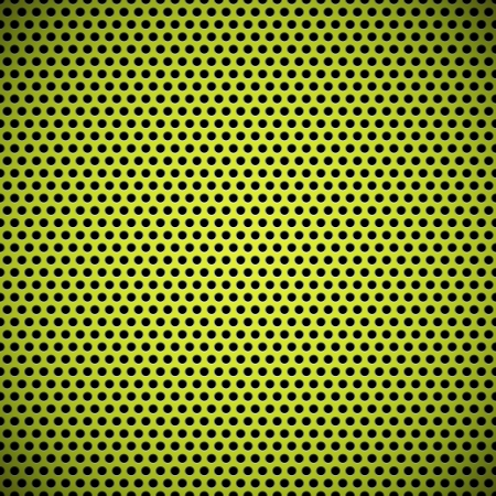 speaker grille: Green technology background with seamless circle perforated plastic  carbon  speaker grill texture for internet sites, web user interfaces  ui  and applications  apps  Pattern