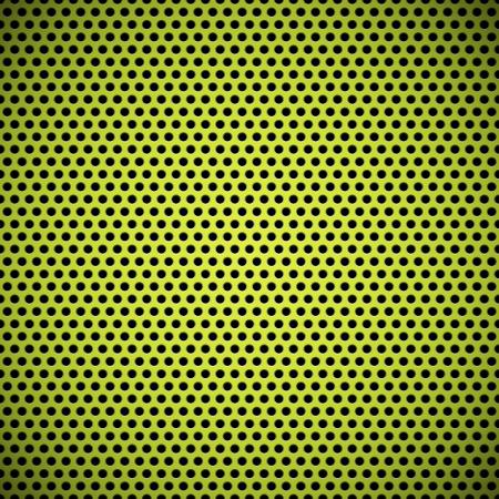 La tecnolog�a verde de fondo sin fisuras con el c�rculo perforado textura de carbono de pl�stico rejilla del altavoz para los sitios web de Internet, las interfaces de usuario ui y Patr�n aplicaciones aplicaciones Vectores