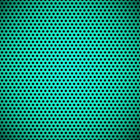 Green technology background with seamless circle perforated plastic  carbon  speaker grill texture for user interfaces  UI , applications  apps  and business presentations  Vector Pattern Stock Vector - 19017677