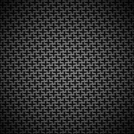 Technology background with seamless black metal  stainless steel, titan, chrome  texture for internet sites, web user interfaces  UI , applications  apps  and business presentations  Vector Pattern Stock Vector - 19017671